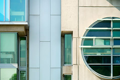 building geometry (♫ marc_l'esperance) Tags: takumar200mmf35 preset vintagelens manualphotography building geometry geometric architecture details architectural abstraction abstract shapes lines colours vancouver bc marclesperancephoto 2019 cml luxmaticcom