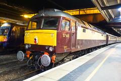 57 601 Windsor Castle at York (Alun EH) Tags: york yorkstation class57 brush wcr westcoastrailways class576 57601 windsorcastle northernbelle br britishrail britishrailways train railway railroad