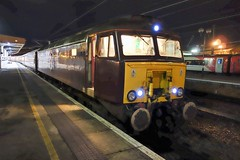 57 313 at York (Alun EH) Tags: york yorkstation class57 brush wcr westcoastrailways class573 57313 northernbelle br britishrail britishrailways train railway railroad