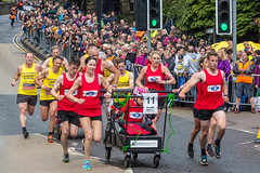 Great Knaresborough Bed Race-93.jpg (Steve Walmsley) Tags: greatknaresboroughbedrace tom knaresborough anna sam bedrace sophie cindy