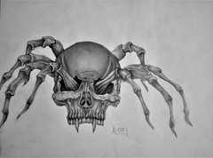 Spider Drawing | Sketching | Karakalem (hediyelikkarakalem) Tags: charcoal charcoaldrawing drawings draw image pictures illustration graphics paintings sketching pencildrawing art myart graphic creative portrait abstractart life love realism cool awesome beautiful sketchbook artist lifestyle europe usa design birthday