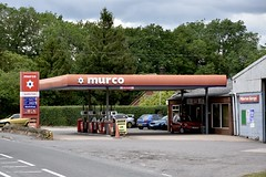 Murco, Pillerton Priors Warwickshire. (EYBusman) Tags: murco pillerton priors warwickshire petrol gas gasoline filling service station garage eybusman mfg