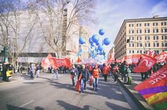 DSCF7278 (Alessandro Gaziano) Tags: alessandrogaziano manifestazione roma colori colors people gente visioni diritti italia italy foto fotografia