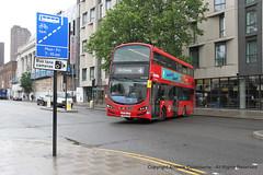 IMG_1632-070619 (andrewcolebourne) Tags: london londonbus transportforlondon waterlooroad metroline hollowaygarage ht volvo b5lh wright gemini route4 vwh2004 lk14fam