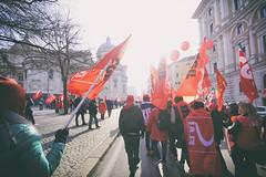 DSCF7274 (Alessandro Gaziano) Tags: alessandrogaziano manifestazione roma colori colors people gente visioni diritti italia italy foto fotografia