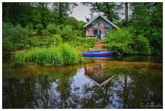 De Olliemoelle, Winderswijk (Stathis Iordanidis) Tags: house boat lake lakeside river riverside netherlands nature reflections