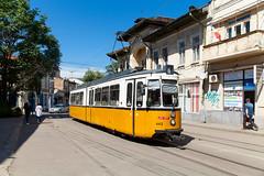 Oldtimer im Dauereinsatz (trainspotter64) Tags: strasenbahn streetcar tram tramway tranvia tramvaj tramwaje düwag gt4 esslingen rumänien romania iași