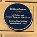 John Johnson 1732-1814 Architect and County Surveyor 1782-1812 Designed this building completed in 1791