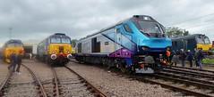 68027 Splendid at Crewe Diesel Depot Open Day 2019 (train_photos) Tags: 68027 splendid crewe depotopenday transpennineexpress