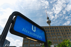 Alexanderplatz (nickcoates74) Tags: berlin alex germany deutschland sony kitlens alexanderplatz bvg 1650mm a6300 epz1650mmf3556oss sel1650 ilce6300 station ubahn ubhf fernsehturm