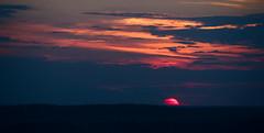 At the sunsent / На закате (Boris Kukushkin) Tags: landscape sky sun sunset clouds silhouette пейзаж закат небо солнце облака силуэт