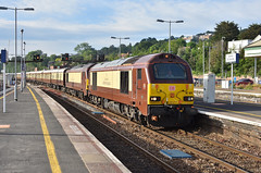 DBC - 67021 & 67024 - Exeter St Davids (Transport Tim) Tags: dbschenker ews vsoe
