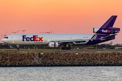 N609FE FX MD11F 34L YSSY-0995 (A u s s i e P o m m) Tags: mascot newsouthwales australia fedex fx syd yssy sydneyairport mcdonnelldouglas md11f