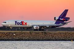 N609FE FX MD11F 34L YSSY-0982 (A u s s i e P o m m) Tags: mascot newsouthwales australia fedex fx syd yssy sydneyairport mcdonnelldouglas md11f
