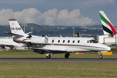 Cessna 560XL Citation XLS CS-DXR NetJets (Mark McEwan) Tags: cessna cessna560xl citation citationxls csdxr netjets netjetseurope bizjet aviation aircraft airplane edi edinburghairport edinburgh