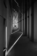 Xing (aperture one) Tags: deutschland building europa abstrakt germany gebäude structure blackwhite berlin sw schwarzweis blackandwhite architecture architektur geomtrie europe geometry abstract