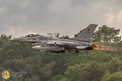 General Dynamics F-16AM, Belgique (FG-Aviation) Tags: nato avion chasseur fighter f16 tiger afterburner military airplane aircraft