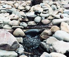 Little rock bridge (Kent C.) Tags: mamiyarb67pros film filmphotography kodakportra160 mediumformat 6x7 120film