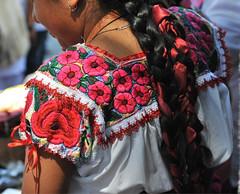 Oaxaca Mexico Zapotec Blusa Blouse Clothing (Teyacapan) Tags: mujer zapoteca woman oaxaca blusas blouse ropa clothing teotitlan flowers embroidery