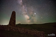 2AM at Fetterman (kevin-palmer) Tags: spring june night sky nikond750 story fetterman monument stone dark hills tamron2470mmf28 stars starry space astronomy astrophotography milkyway wyoming clear galaxy