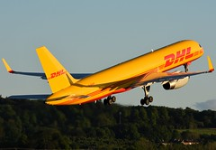 G-DHKP DHL Cargo (Gerry Hill) Tags: gdhkp dhl cargo boeing 757223pcf b757 b 757 223 freiht edinburgh airport gerry hill scotland turnhouse ingliston d90 d80 d70 d7200 d5600 boathouse bridge nikon aircraft aeroplane international airline edi egph airplane transport