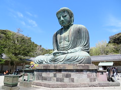 Great Buddha of Kōtoku-in (Sean_Marshall) Tags: kōtokuin 高徳院 temple buddhisttemple 鎌倉市 鎌倉 kamakura japan