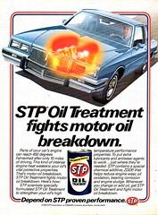 1984 STP Oil Treatment USA Original Magazine Advertisement (Darren Marlow) Tags: 1 4 8 9 1984 19 84 s t p stp o oil treatment c car truck tractor a automobile v vehicle u us usa nited states american america 80s