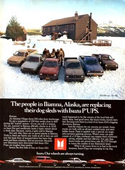 1984 Isuzu PUP Pickup Truck USA Original Magazine Advertisement (Darren Marlow) Tags: 1 4 8 9 19 84 1984 i isuzu p pup pickup t truck c car cool collecticle collectors classic a automobile v vehicle j jap japan japanese asian asia80s