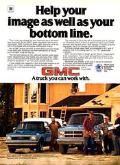 1984 GMC C Series & S-10 Pickup Trucks USA Original Magazine Advertisement (Darren Marlow) Tags: 1 4 8 9 19 84 1984 g m c gm gmc s series 10 s10 p pickup t truck car cool collectible collectors classic a automobile v vehicle general motors u us usa united states american america 80s