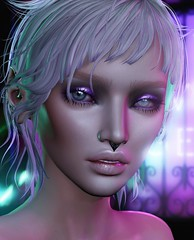 Spaced Out (Alisa Perne) Tags: alisa26 alisaperne secondlife sl avatar lelutka korina bento meshhead glamaffair skinapplier zibska makeup tram collabor88