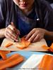 Vegetable Carving - Carrot Leaf (Bitter-Sweet-) Tags: vegan vegetarian food foodart carving decorative garnish art craft knifeskills thailand chiangmai fresh playwithyourfood fun workshop
