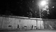 people in the city (Steve only) Tags: sony xperia xzs cellphone snaps bw monochrome peopleinthecity 黑白 night
