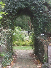 Looking Into the Secret Garden; ; the Garden of St Erth - Simmonds Reef Road, Blackwood (raaen99) Tags: gardenofsterth sterth sterthgardens sterthhouseandgardens 1860s 1866 1867 victoriangeorgianarchitecture victoriangeorgianbuilding victoriangeorgianhouse victoriangeorgiancottage victoriangeorgianstyle house home cottage domesticarchitecture victoriana nineteenthcentury 19thcentury building architecture matthewrogers maryannerogers simmondsreef victoriangoldrush goldrush goldrushera sandstone stone verandah corrugatedironroof corrugatediron iron hippedroof roof walls window door diggersclub diggers diggersgardeningclub diggersgardenclub gardeningclub gardenclub garden blackwood victoria australia grounds grass greenery leaves tree trees leaf autumn fall autumnal bushes shrubs shrubbery houseandgardens kobanspool pool pond secretgarden sunkengarden bower arbor arbour hedge