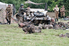 WW2 reenactment - Vlkoš 2019 (The Adventurous Eye) Tags: ww2 reenactment vlkoš 2019 rekonstrukce válečná military history kvh photo
