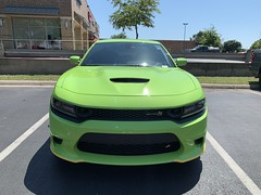 IMG_2509 (Smalltowntx87) Tags: 2019 dodge charger scat pack automotive dealership brand new car sublime green pearl 392 hemi 64 57 iphone xs max fiat chrysler 485hp srt