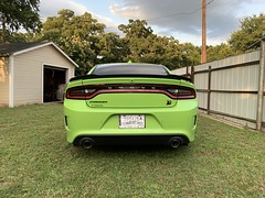 IMG_2615 (Smalltowntx87) Tags: 2019 dodge charger scat pack automotive dealership brand new car sublime green pearl 392 hemi 64 57 iphone xs max fiat chrysler 485hp srt