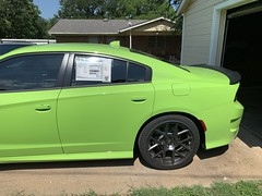 IMG_2553 (Smalltowntx87) Tags: 2019 dodge charger scat pack automotive dealership brand new car sublime green pearl 392 hemi 64 57 iphone xs max fiat chrysler 485hp srt
