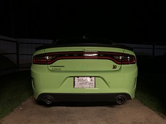 IMG_2548 (Smalltowntx87) Tags: 2019 dodge charger scat pack automotive dealership brand new car sublime green pearl 392 hemi 64 57 iphone xs max fiat chrysler 485hp srt