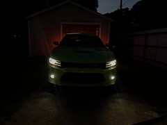 IMG_2527 (Smalltowntx87) Tags: 2019 dodge charger scat pack automotive dealership brand new car sublime green pearl 392 hemi 64 57 iphone xs max fiat chrysler 485hp srt