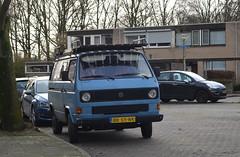 1984 Volkswagen T3 Transporter BK-55-NK (Stollie1) Tags: 1984 volkswagen t3 transporter bk55nk nijmegen
