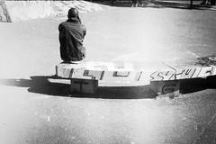Anonym 3 (herbdolphy) Tags: analog analogique argentique pellicule 35mm film konicapop fomapan blackwhite noiretblanc street filmisnotdead filmphotography nantes