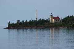 Copper Harbor Lighthouse (BunnyHugger) Tags: copperharbor keweenaw lakesuperior lighthouse michigan upperpeninsula