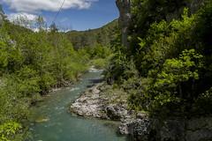 La Foz de Binies, río Veral. (fcuencadiaz) Tags: leica leicadigital paisajes fullframe f0 formatocompleto camarascompactas rios aragón huesca pirineoaragones summilux objetivosfijos