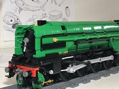 Teaser (Britishbricks) Tags: lego lner wip steam engine loco train moc p2 gresley prince wales class