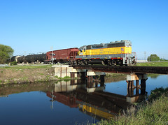 502, South Bay FL, 5 March 2019 (Mr Joseph Bloggs) Tags: south bay florida express emd gp402 gp40 electro motive scfe central clewiston fort pierce train treno freight cargo merci railway railroad division zug vlak usa united states america ussc sugar corporation