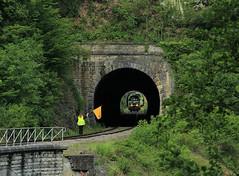 Lineas 7784 @ Purnode (Sicco Dierdorp) Tags: nmbs sncb tsp pft lineas reeks77 7784 cfdb cfb chemindeferdubocq bocq museumlijn fotorit spontin yvoir ciney dorinne durnal purnode tunnel viaduct