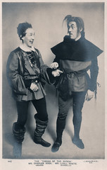 Mr. Charles Rook and Mr. Lyall Swete in The Taming of the Shrew (pepandtim) Tags: postcard old early nostalgia nostalgic charles rook lyall swete taming shrew 77mcr54 1918 beagles london edward 1865 warrington england actor producer 1887 sarah thorne margate bensons sir george alexander lewis waller oscar asche haymarket outward bound saint joan beauty 1930