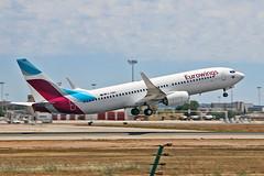 D-ABMV Boeing 737-86J TUI Airlines Eurowings PMI 28-05-19 (PlanecrazyUK) Tags: lepa sonsantjoanairport aeroportdesonsantjoan palmademallorcaairport dabmv boeing 73786j tuiairlines eurowings pmi 280519