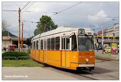 Tram Budapest - 2019-14 (olherfoto) Tags: tram tramcar tramway strasenbahn villamos budapest ungarn hungary bkv ganz