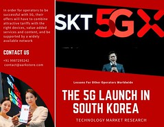 THE 5G LAUNCH IN SOUTH KOREA (charanjitaark) Tags: 5g market research report south korea 2019 technology